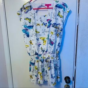 Betsey Johnson butterfly dress